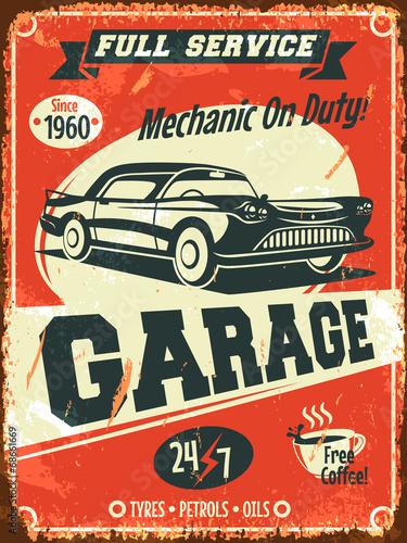 znak-uslugi-retro-samochodow-ilustracji-wektorowych
