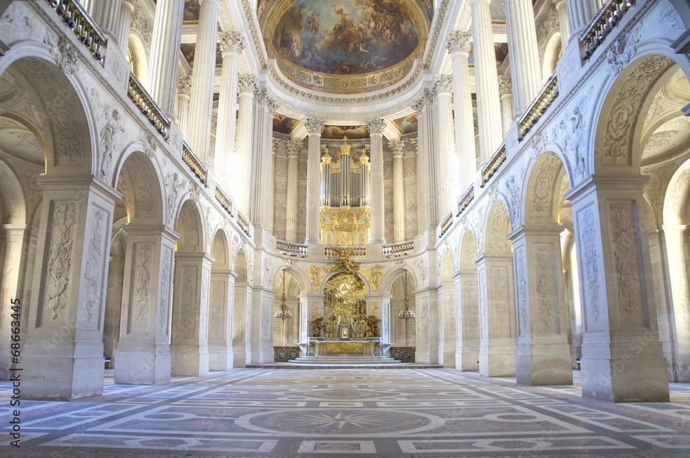 Fototapety, obrazy: 王の礼拝堂 ベルサイユ宮殿