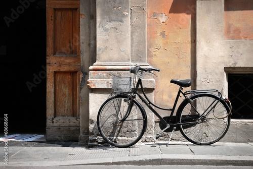Foto auf AluDibond Italian old style bicycle