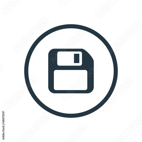 Fotomural file save icon.