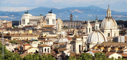 Papiers peints Rome Beautiful panorama of Rome, Italy
