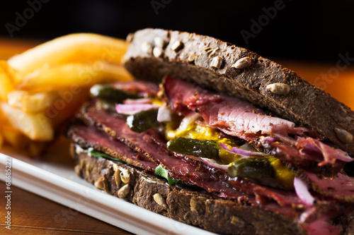 Photo Stands Snack Pastrami