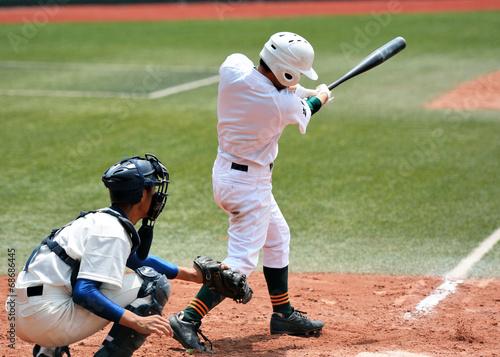 Fotografie, Obraz  高校野球