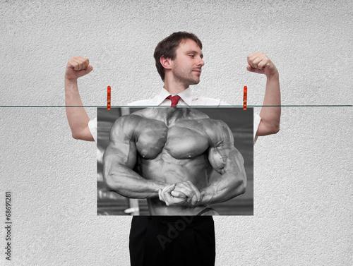 Photo  strongman