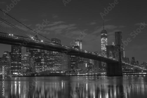 Foto op Canvas Brooklyn Bridge Brooklyn Bridge . Manhattan. New York. United States of America