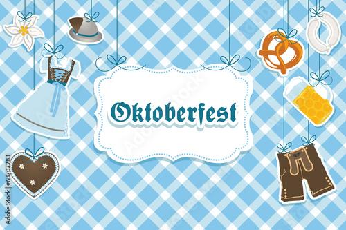 Obraz na plátně Oktoberfest