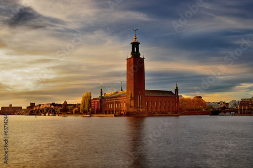 In de dag Stockholm Szwecja, Sztokholm