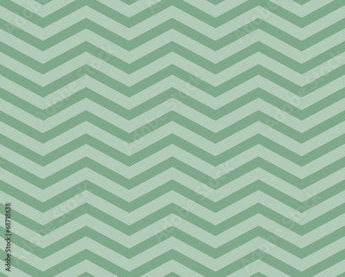 Green Chevron Zigzag Textured Fabric Pattern Background Wallpaper Mural