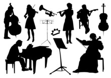 Orchestra Silhouettes