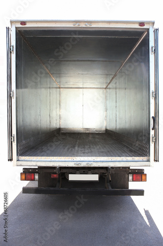 Fotografie, Tablou  open container of the truck