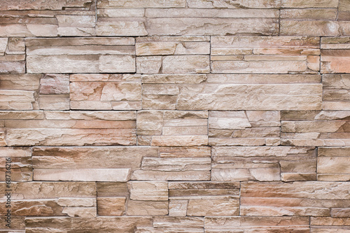 Poster Stenen Modern stone brick texture wall background