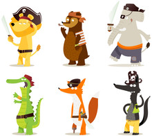 Animaux Pirates