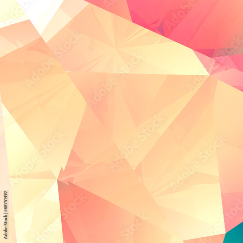 Abstract facet luxury background - computer generated