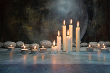 Kerzen, Mystisch
