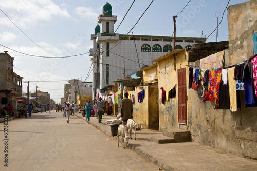 Staande foto Afrika Saint Louis, Senegal, Africa