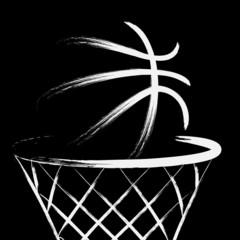 Fototapeta Koszykówka Basketball, vector