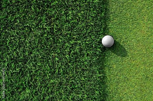 Deurstickers Golf Let's golf