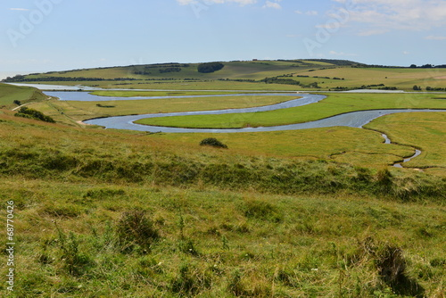 Valokuva  Cuckmere Haven in East Sussex, England