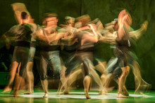 Group Of Contemporary Dancers ...