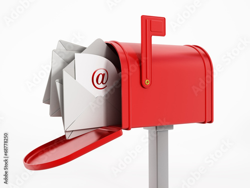 Fotomural Mailbox with enveloppes