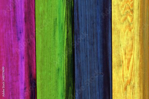 Foto op Plexiglas Groene wooden plank texture