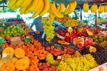 Fruit Market Stall.