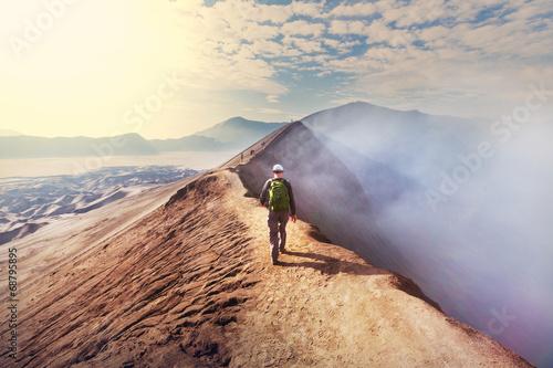 Hike in Indonesia Fototapet
