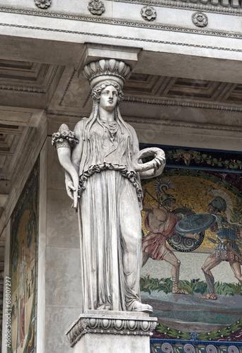 Fotografija  Detail der Engel des Friedens-Denkmal