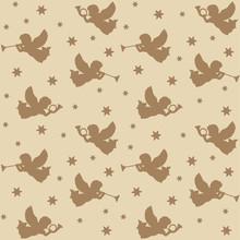 Christmas Seamless Pattern, Si...