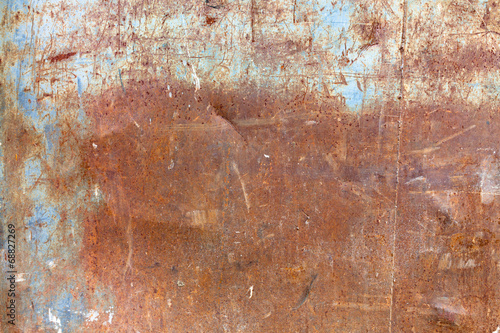 fototapeta na drzwi i meble Stare zużyte zardzewiały tekstury