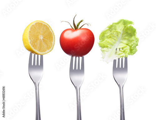 Canvas Prints Fresh vegetables Vegane Ernährung