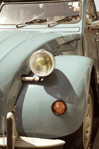 Photo  Retro car 2CV Citroen