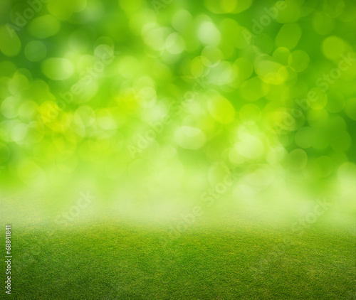 Poster Printemps grass background
