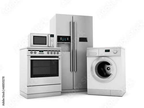 House appliances Canvas Print