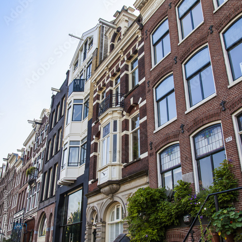 Photo  Amsterdam, Netherlands. A typical architectural details
