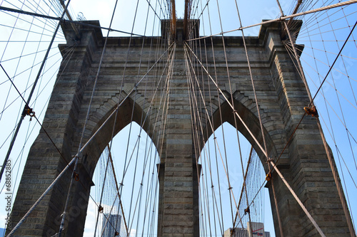 Fototapeta Brooklyn bridge, New York obraz na płótnie