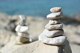 Fototapeta Kamienie - pile of stones