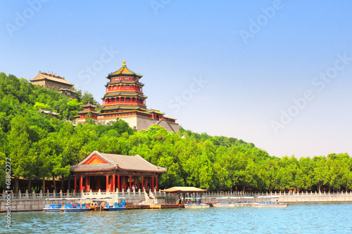 Foto op Canvas Peking Summer Palace in Beijing, China