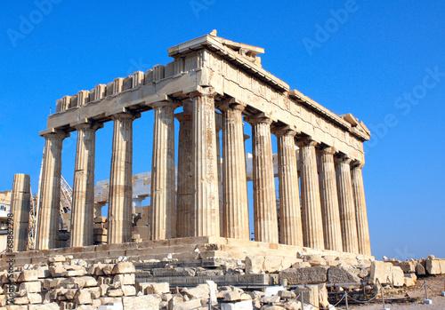Staande foto Athene Parthenon on the Acropolis, Athens, Greece