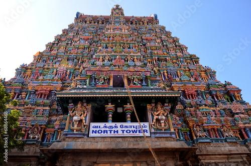 Foto op Plexiglas Temple meenakshi amman temple