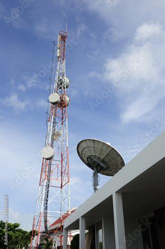 Fotografía  Communication station