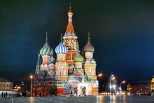 St. Basil Cathedral, Moscow Kr...