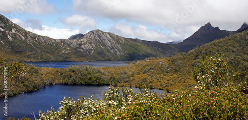 Foto op Canvas Australië Cradle Mountain Nationalpark, Tasmanien, Australien