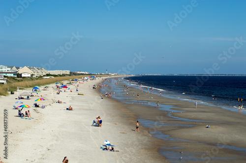 Oak Island North Carolina Beach