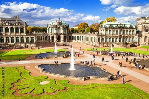 Fotografiet Baroque Dresden, Zwinger museum