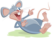 Gray Mouse Lies And Laughs