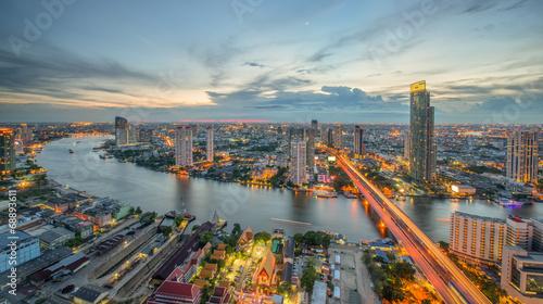 Photo Stands Bangkok Bangkok city