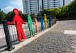 canvas print picture - ein Kinderspielplatz