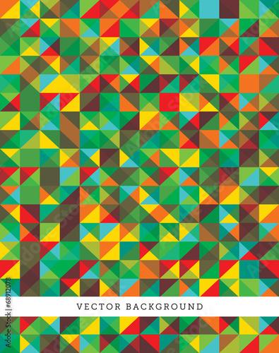 Poster Op straat Abstract Vector Background