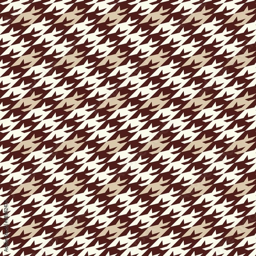 Photo  houndstooth modern pattern